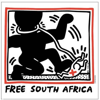 keith-harring-free-south-africa-85