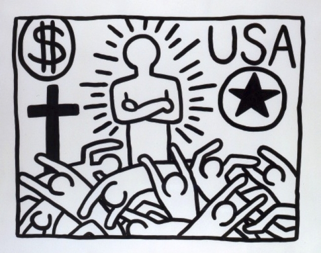 untitled 1982 keith haring foundation