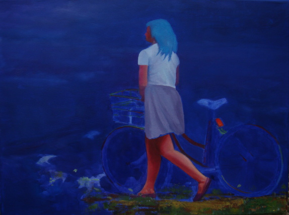 Dylan Williams-girls on bicycles 1