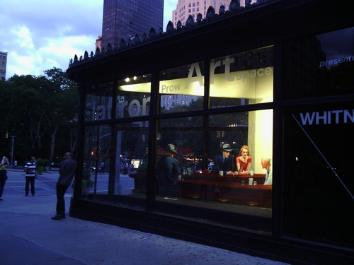 Nighthawks at Flatiron Building, New York