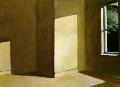 Edward Hopper (1882–1967) Sun in an Empty Room, 1963 Oil on canvas 28 3/4 x 39 1/2 in. (73 x 100.3 cm)