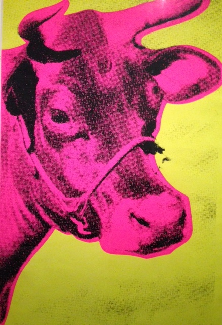 "Andy Warhol ""Cow"""