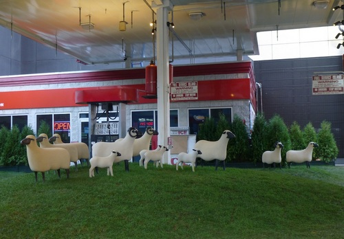 Sheep Station, Francois-Xavier Lalanne, Chelsea, NYC