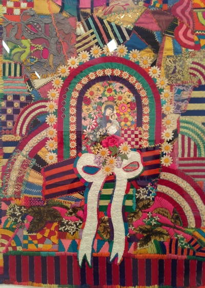 Joe Brainard Madonna, 1966 Mixed media collage 22 x 19 inches Photo by Gustavo Taborda