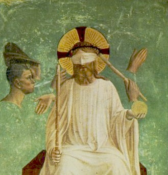 "Fra Angelico, ""The Mocking of Christ"", Museo San Marco, Florence, Italy"