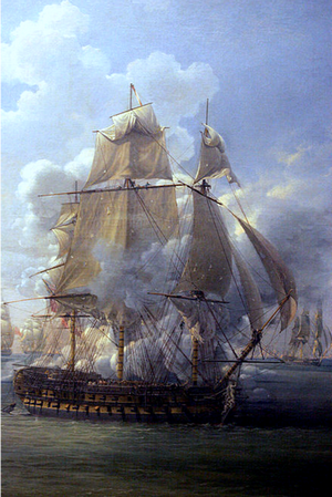 Louis-Philippe Crépin, Fight of the Poursuivante Against the British Ship Hercules June 28, 1803