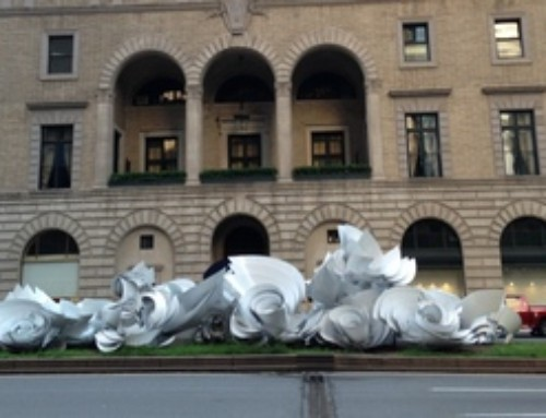 A twister of energy and art in Park Avenue