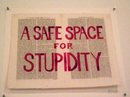 William Kentridge  A Safe Space for Stupidity   2012. Silkscreen on book pages