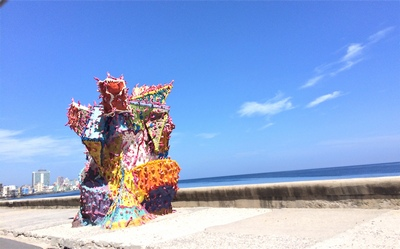 Installation on the Malecón