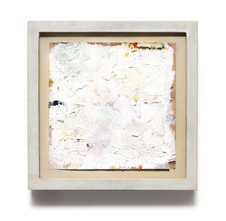 Robert Ryman, Untitled, 1959, oil and gesso on paper