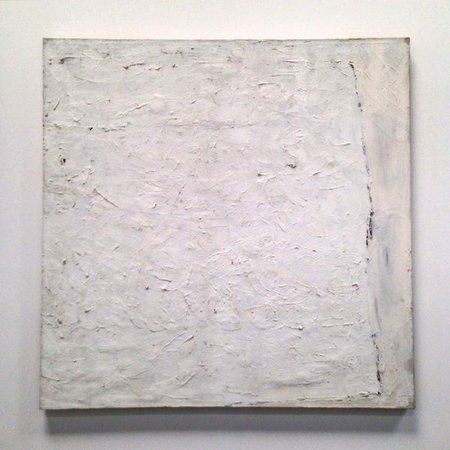 Robert Ryman, Untitled #17, 1958, Oil on canvas