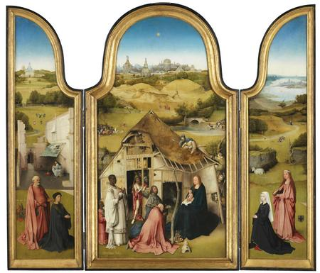 The Adoration of the Magi Triptych- Oil, on Oak Panel- 138x144cm