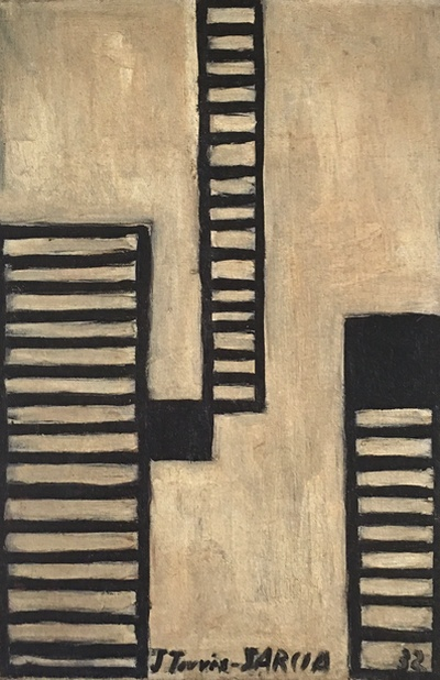 Composicion, 1932 Oil on canvas, 41x26.7 cm
