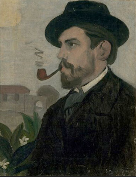 Self portrait, 1902 Oil on canvas, 40x31 cm