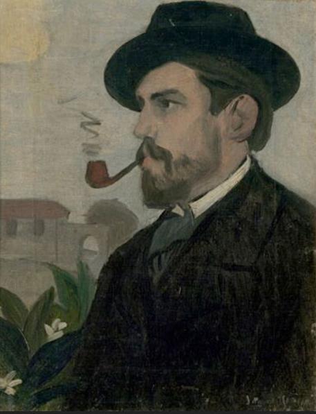 Self portrait, 1902 Oil on canvas, 40x31 cm